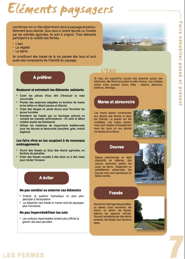 Fiche de recommandations agro-paysagères