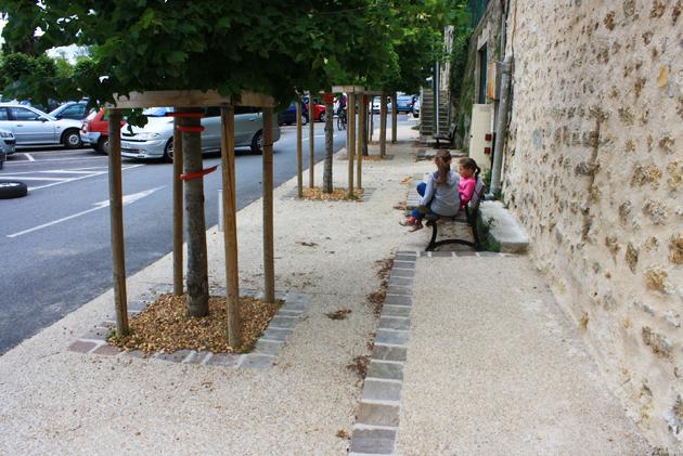 Aménager les espaces publics ruraux de façon durable