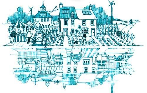 Les villes en transition