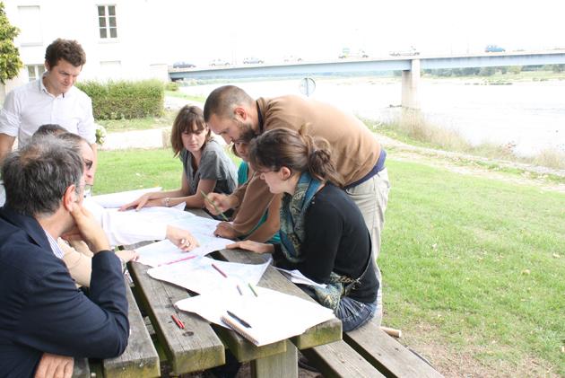 Balades discutées sur la Loire