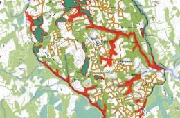 Valorisation des paysages forestiers à Trémargat