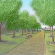 Un parc en coeur de bourg – Villemeux