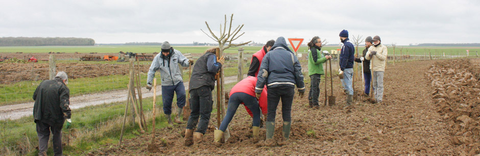 Projet agro-paysager participatif à Lhopiteau (28)
