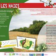 Panneaux et fiches de sensibilisation sur le paysage beauceron