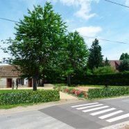 Ouverture du jardin de la mairie (Allainville-28)