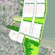 Schéma d'aménagement d'une extension à Villeneuve-le-Comte