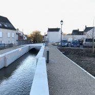 Aménagement de l'entrée du centre historique – Meung-sur-Loire (45)