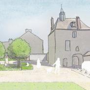 Aménagement de la porte d'Amont à Meung-sur-Loire